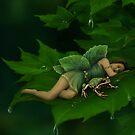 A Fairy Garden Nap by Tammara