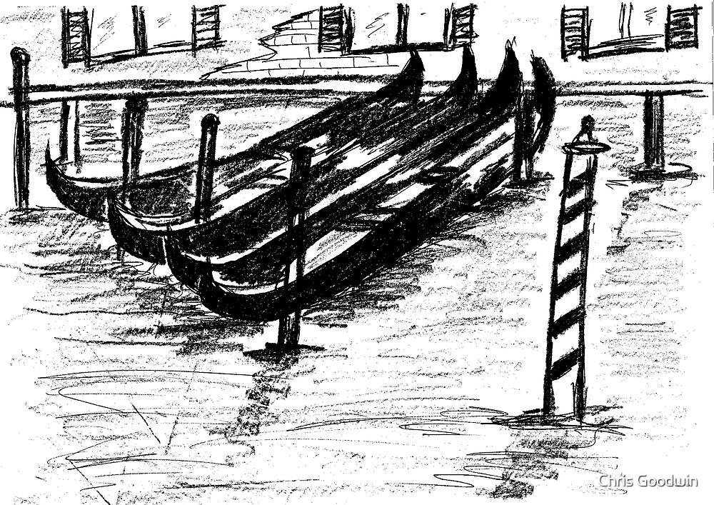 The Italian Gondola  by Chris Goodwin