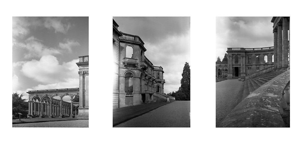 Witley Court Triptych by Matthew Walters