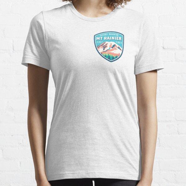 Mount Rainier Essential T-Shirt