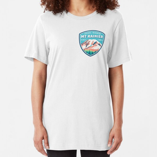 Mount Rainier Slim Fit T-Shirt