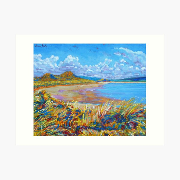 Enniscrone Beach, County Sligo, Ireland Art Print