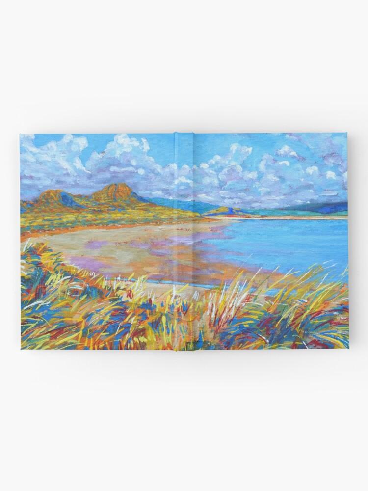 Alternate view of Enniscrone Beach, County Sligo, Ireland Hardcover Journal