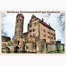 Die Alte Burg - Schloss Sommersdorf von Frank W. Zumpf