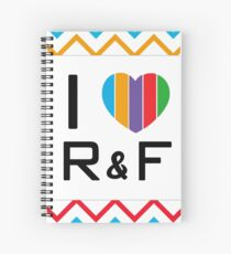 Ich Herz Rodan + Felder Spiralblock
