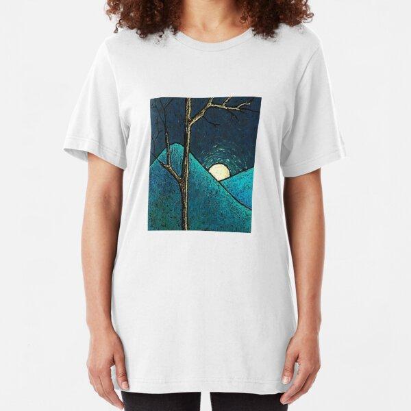 Blue Mountains Slim Fit T-Shirt