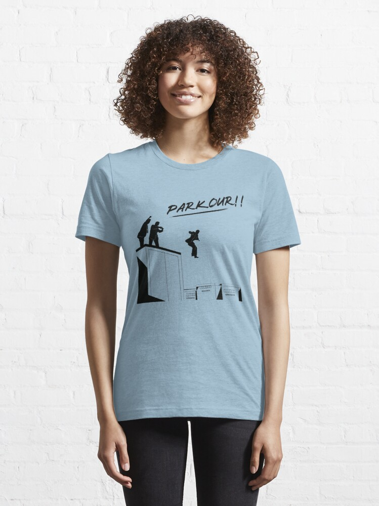 Alternate view of Office - Parkour Essential T-Shirt
