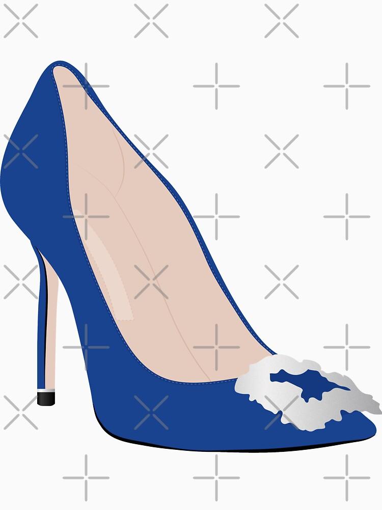 Designer Blue Heel by darrianrebecca