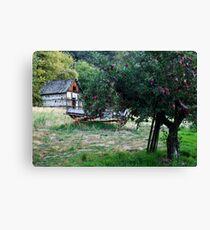 Lienzo Apple Orchard of Oak Glen