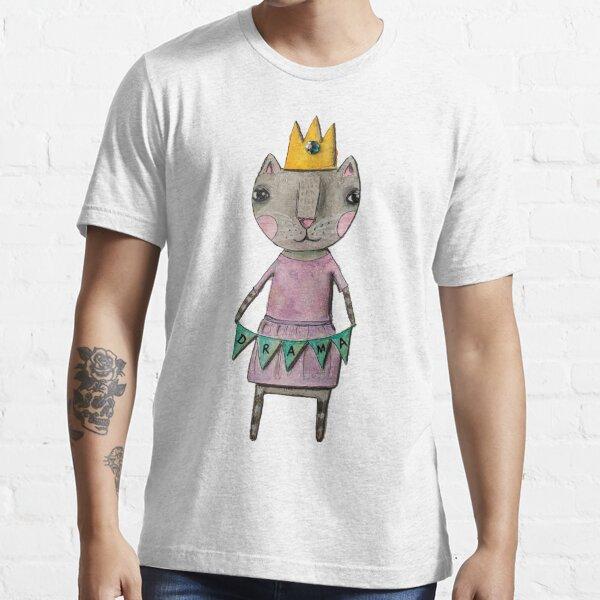 Drama Queen Cat Essential T-Shirt