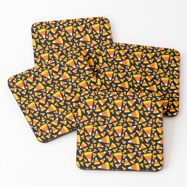 Candy Corn Coasters (Set of 4)