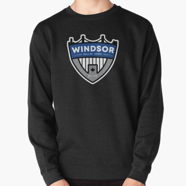 Windsor Roller Derby Badge Logo Pullover Sweatshirt