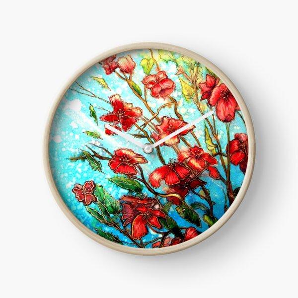 Cherry Blossom Charmers Clock