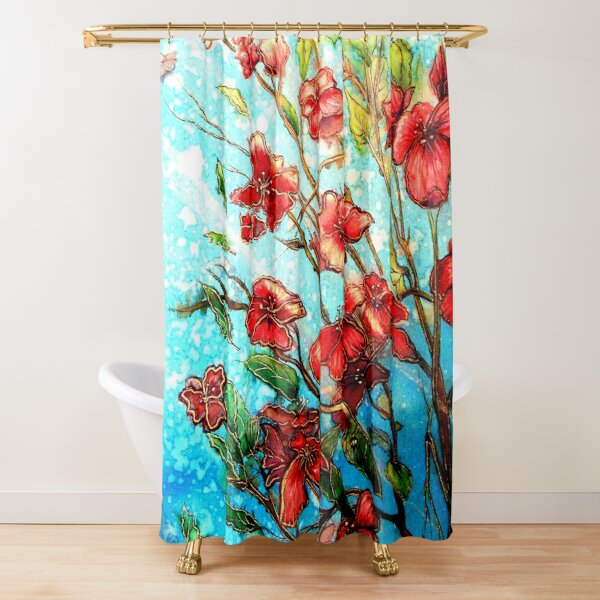 Cherry Blossom Charmers Shower Curtain