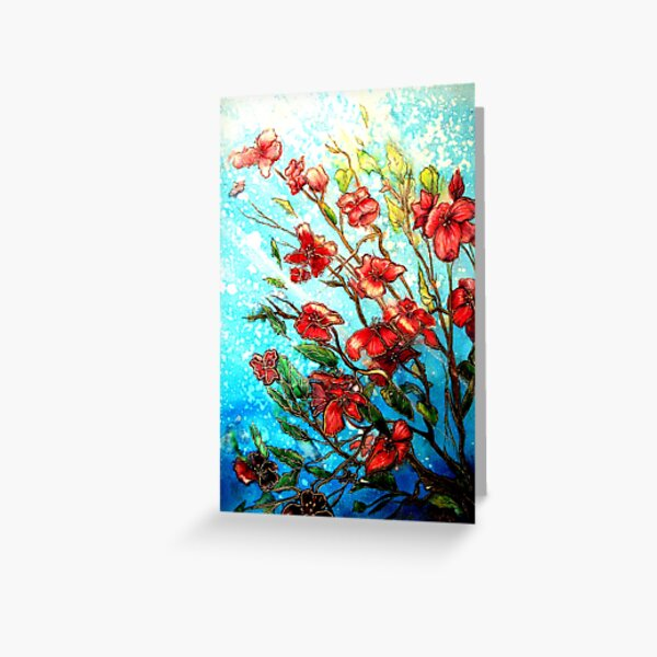 Cherry Blossom Charmers Greeting Card
