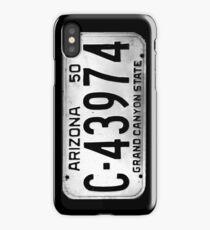 arizona license plate iPhone Case/Skin