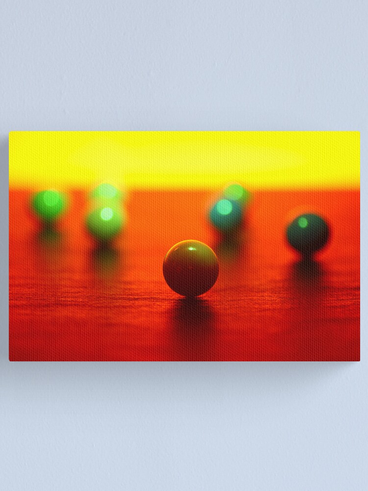 Alternate view of seven Canvas Print