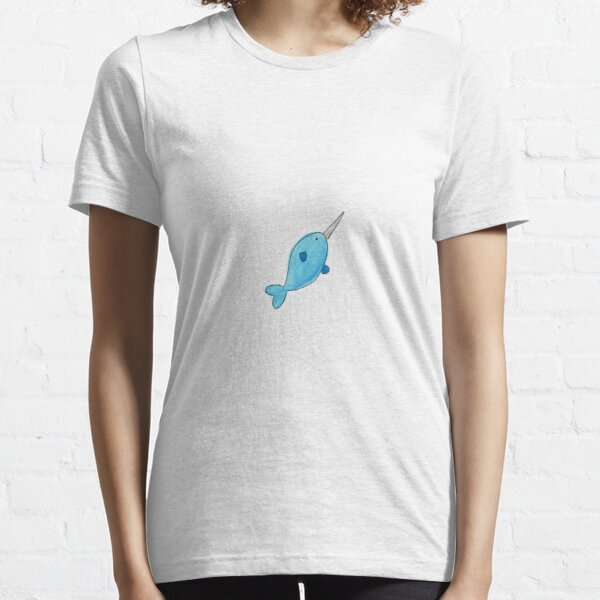 Narwahl Watercolor Essential T-Shirt