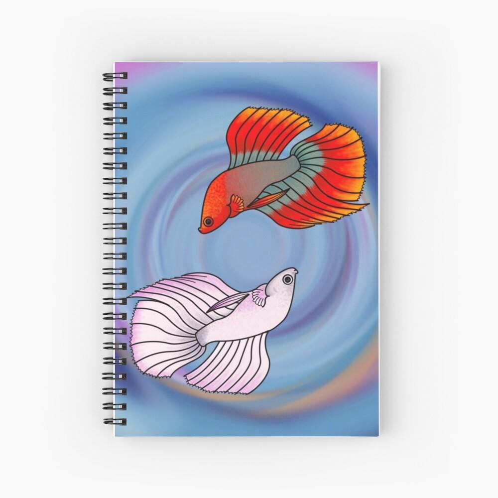 Betta Beauties Spiral Notebook