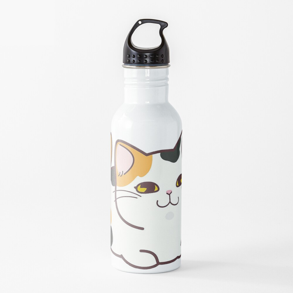 Cute Calico Cat Water Bottle