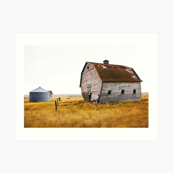 The Walking Barn Art Print