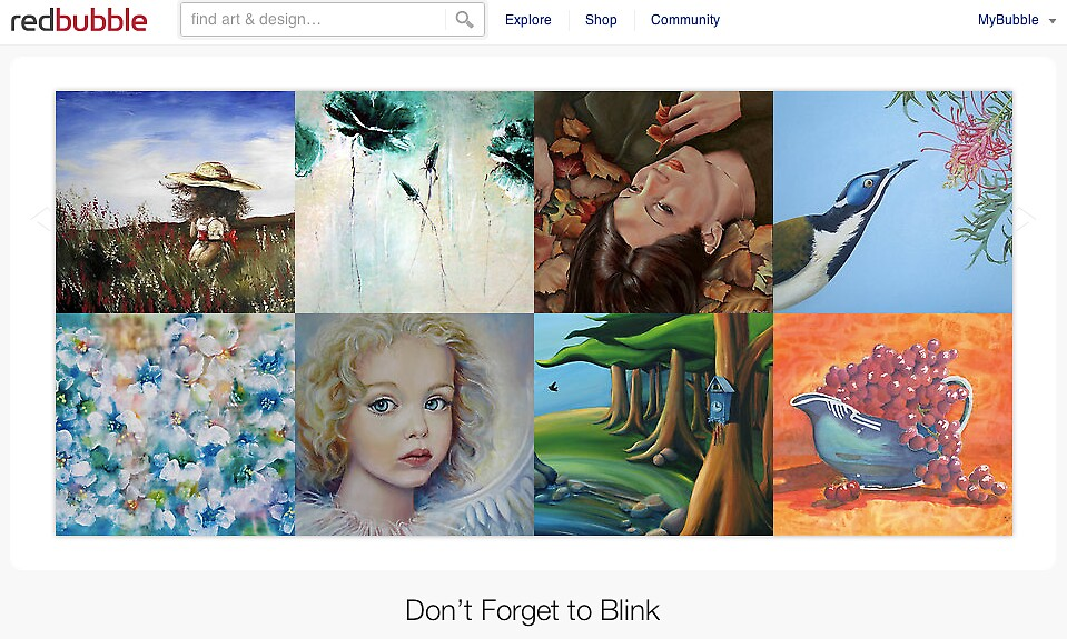 A Thousand Words - 29 October 2010 by The RedBubble Homepage