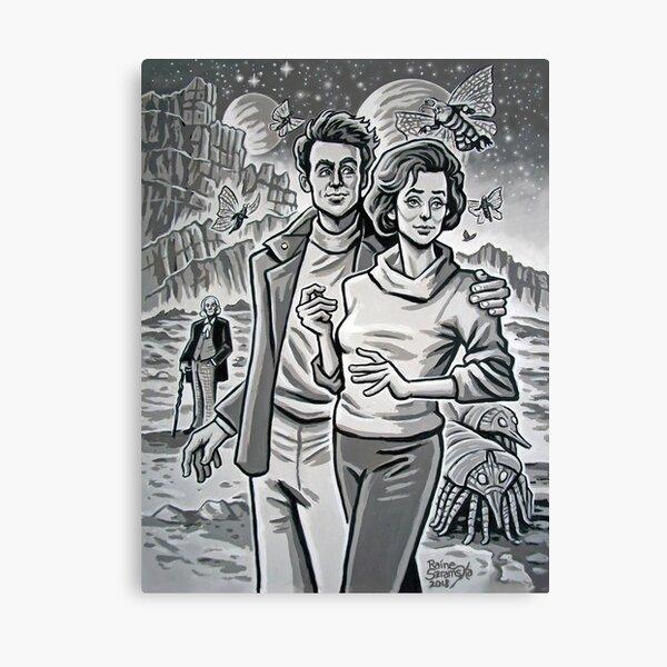 Ian and Barbara Canvas Print