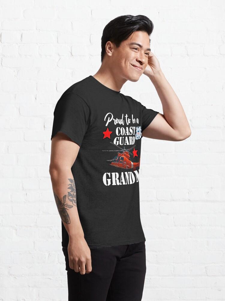 Alternate view of Proud To Be A Coast Guard Grandma Classic T-Shirt