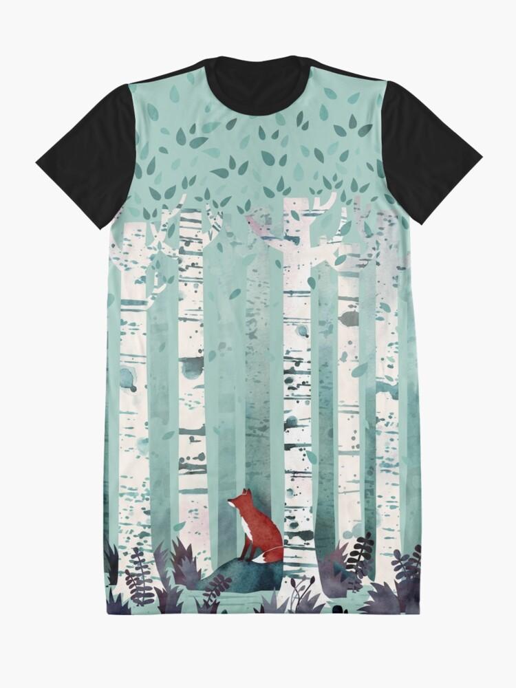 Alternative Ansicht von Die Birken T-Shirt Kleid