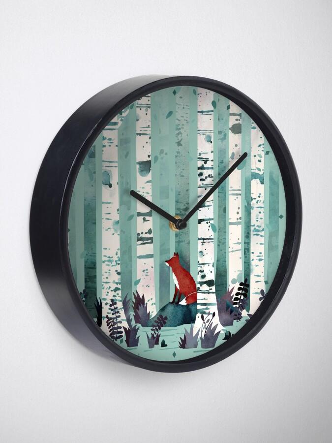 Alternative Ansicht von Die Birken Uhr