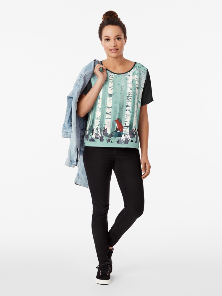Alternate view of The Birches Chiffon Top