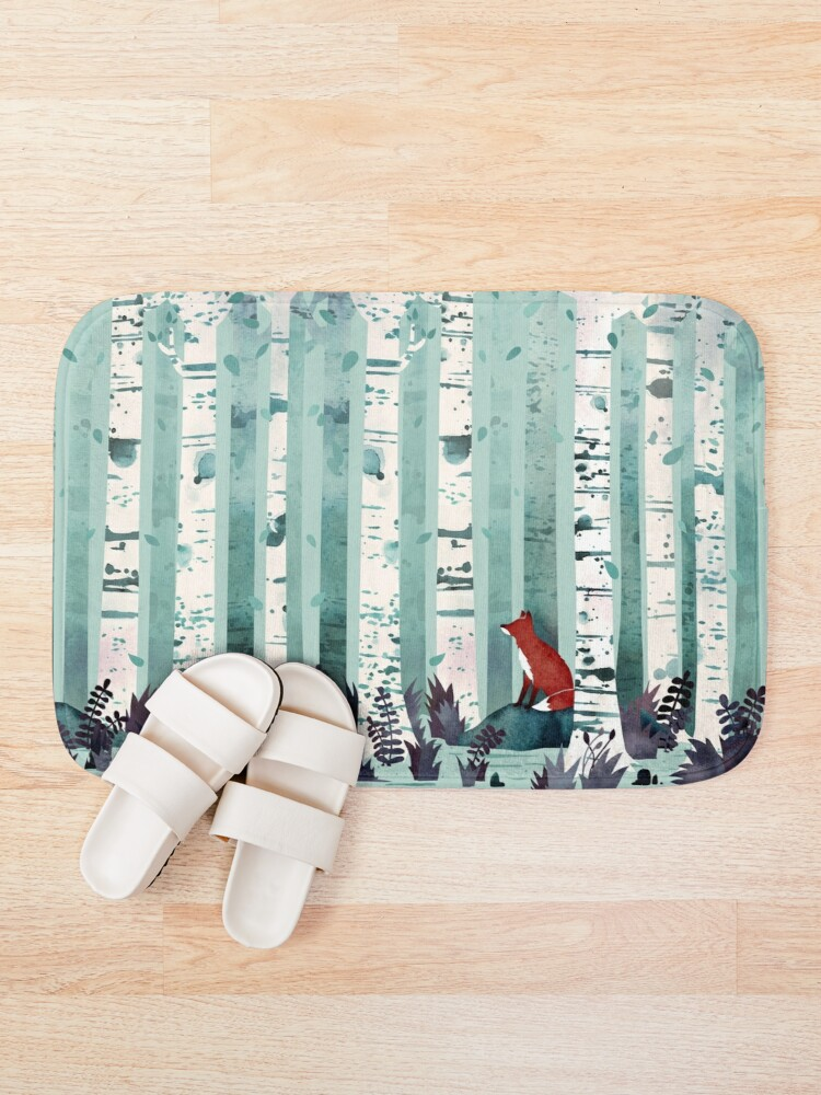 Alternate view of The Birches Bath Mat