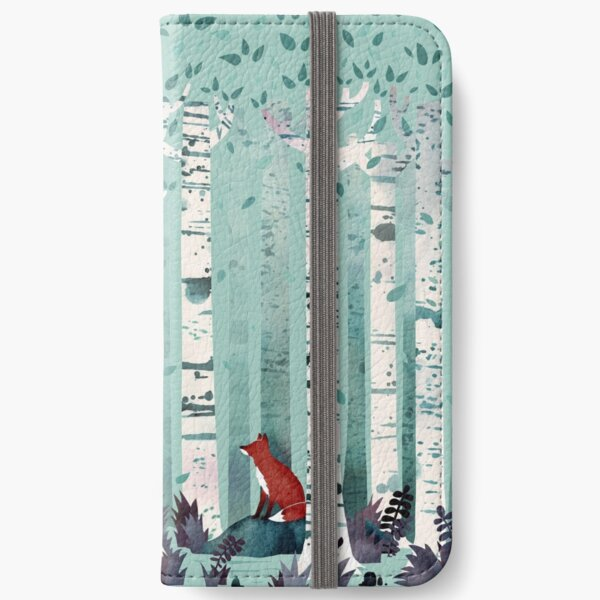 The Birches iPhone Wallet
