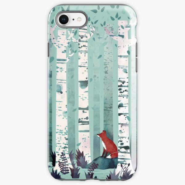 The Birches iPhone Tough Case