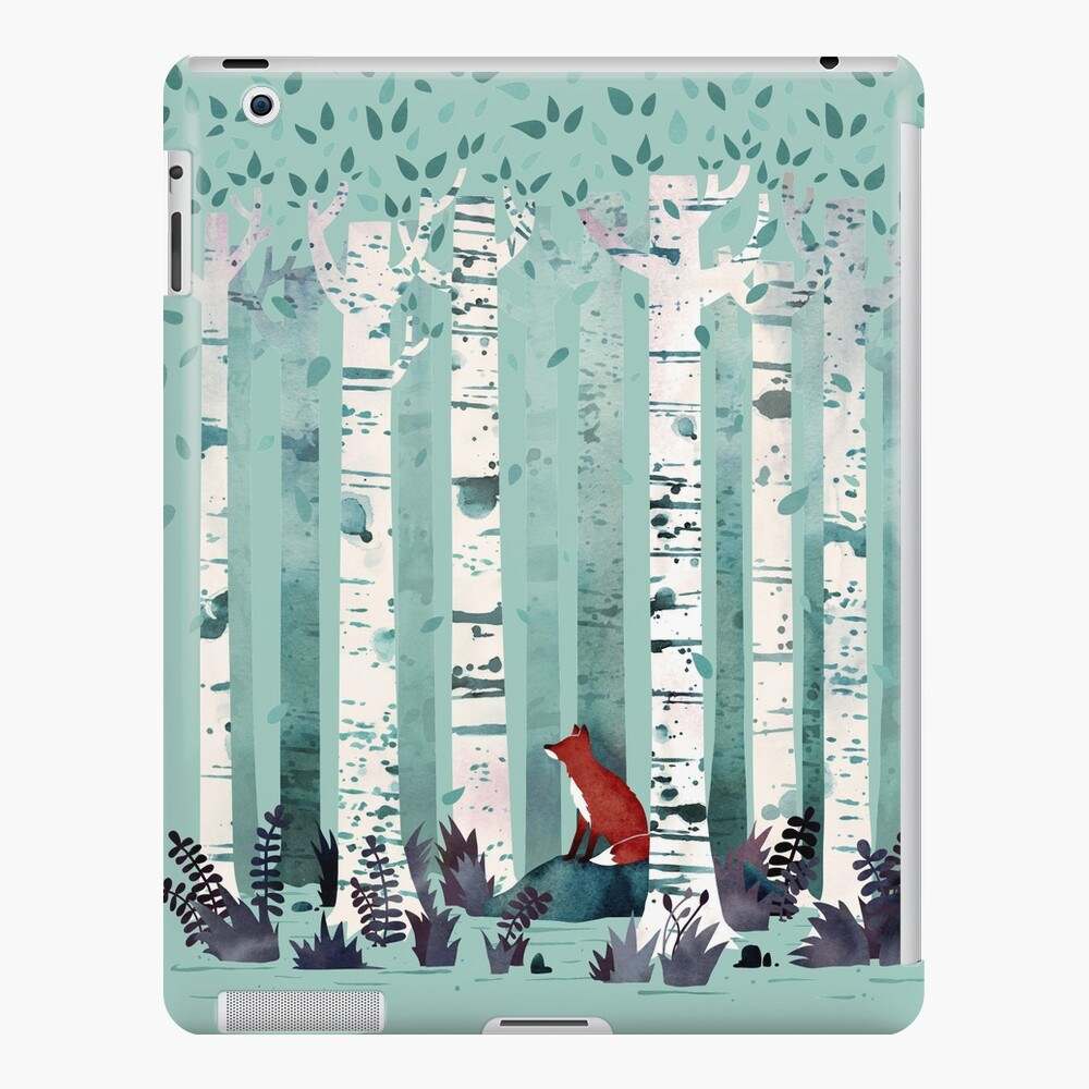 The Birches iPad Case & Skin