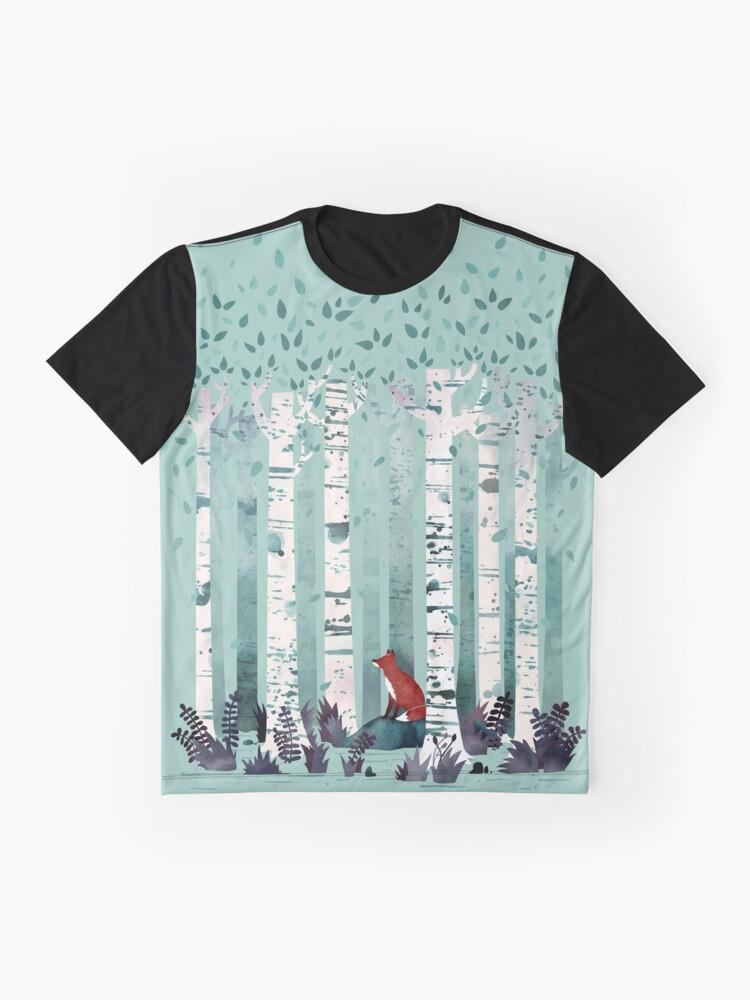 Alternative Ansicht von Die Birken Grafik T-Shirt