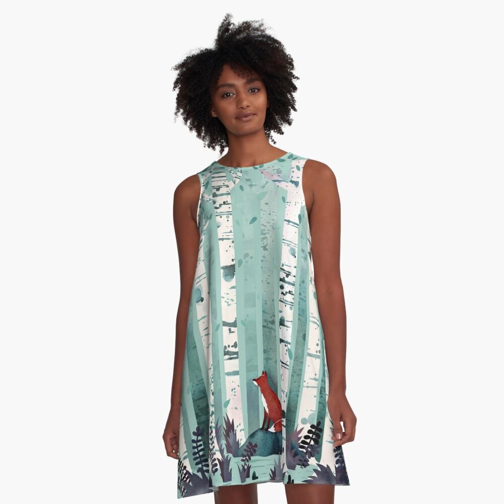 The Birches A-Line Dress