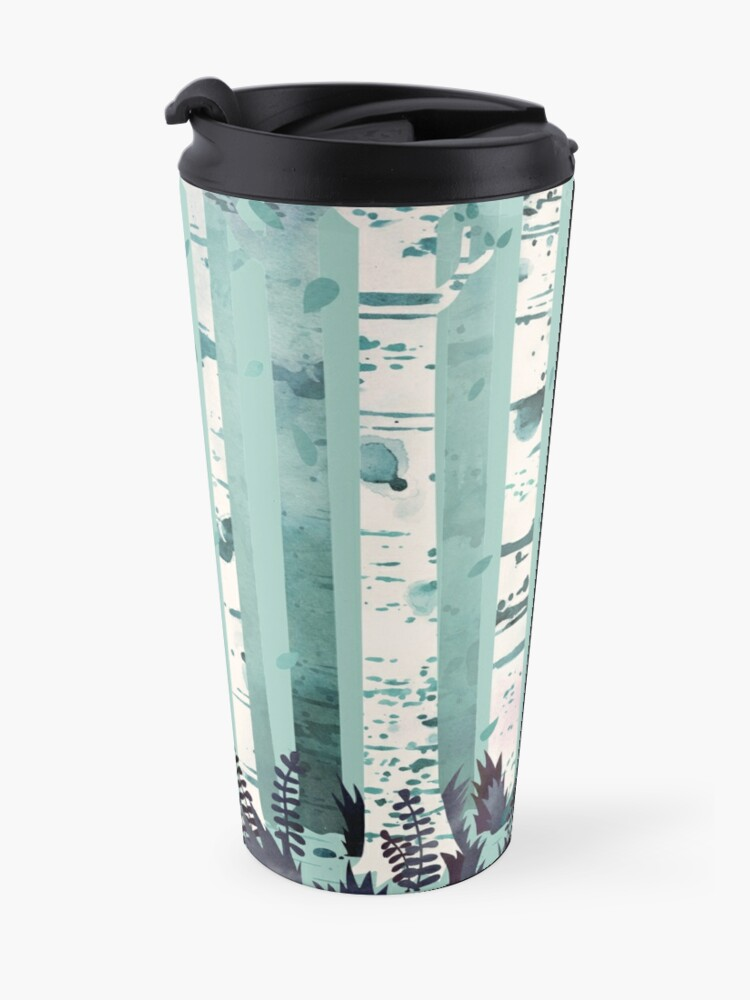 Alternate view of The Birches Travel Mug