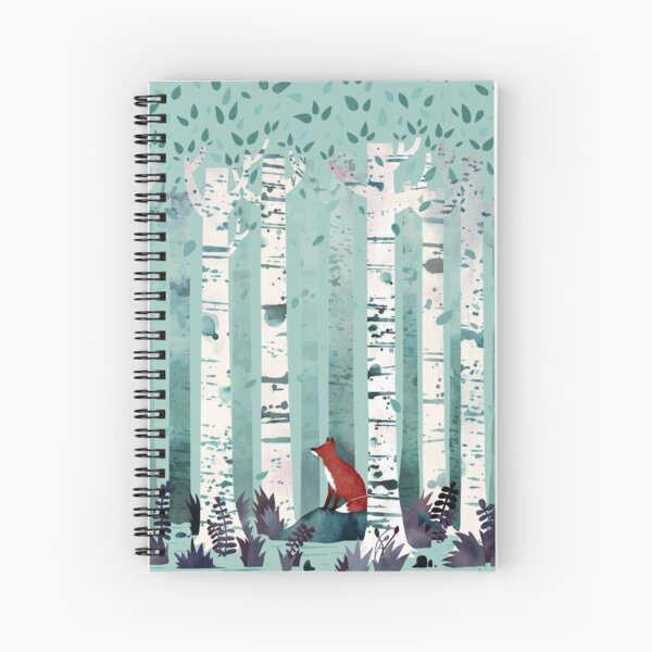 The Birches Spiral Notebook