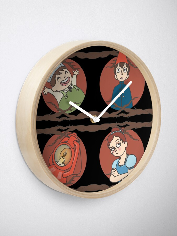 Alternate view of Over the Garden Wall Pattern Clock