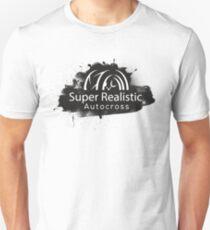 Super Realistic Autocross Logo Slim Fit T-Shirt