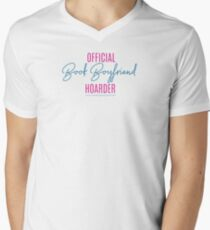Book Boyfriend Hoarder V-Neck T-Shirt