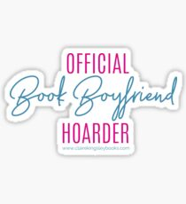 Book Boyfriend Hoarder Glossy Sticker