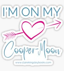 Cooper-Moon Glossy Sticker