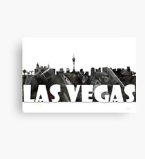 Las Vegas Skyline BG2 Canvas Print