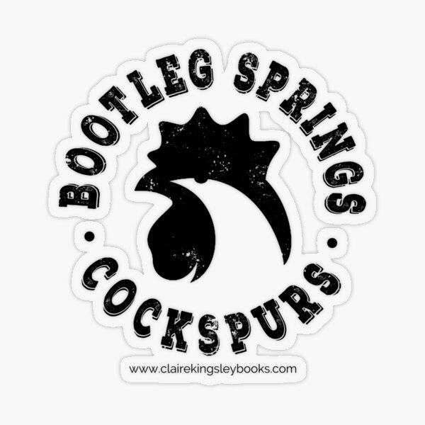 Cockspurs Transparent Sticker
