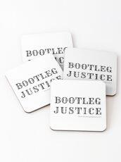 Bootleg Justice Coasters