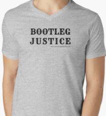 Bootleg Justice V-Neck T-Shirt