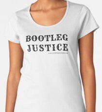 Bootleg Justice Premium Scoop T-Shirt