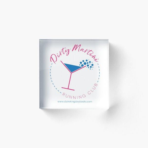 Dirty Martini Running Club Acrylic Block